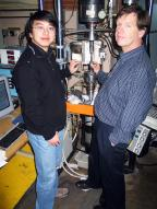 Picture showing Di Yun and Dr. Stubbins
